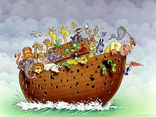 Noah's Ark - the woodpecker might still have to go.jpg