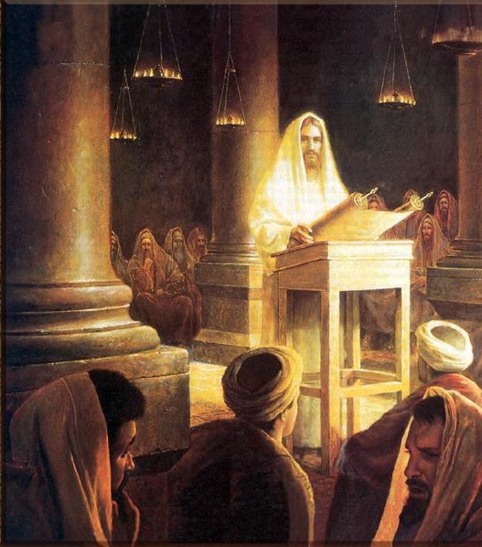 Jesus teaches at the synagogue.jpg